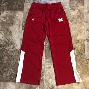 Nebraska Warm-Up Pants
